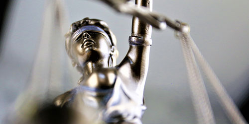 Picture of Lady Justice for legal marketing firm in Central Florida